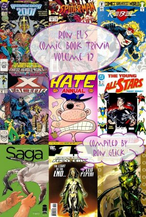 Ron El's Comic Book Trivia Volume 12
