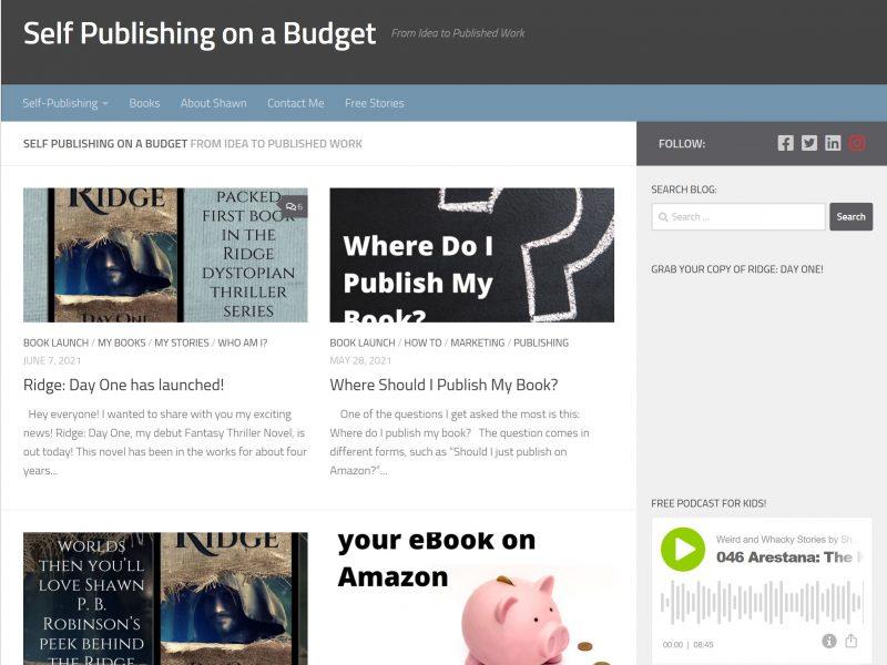 Self Publishing on a Budget