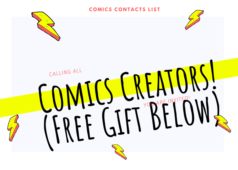 Comics Contacts: The Ultimate Reporter Email List for Superhero Prose/Comics