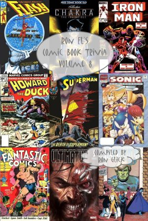 Ron El's Comic Book Trivia Volume 8