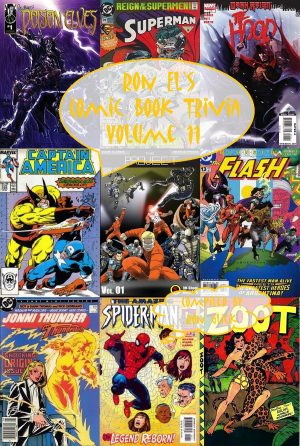 Ron El's Comic Book Trivia Volume 11